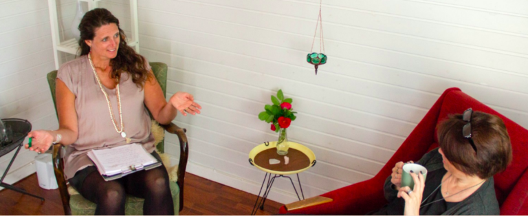 psykoterapetutisk samtale og hypnose terapi